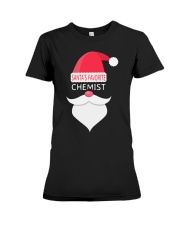 Santa's favorite chemist Premium Fit Ladies Tee thumbnail