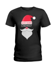 Santa's favorite chemist Ladies T-Shirt thumbnail