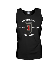 Army 1st Infantry Division Big Red One T Shirt Unisex Tank thumbnail