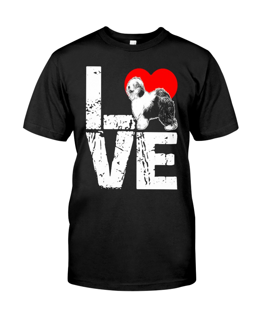 Old English Sheepdog Shirt Classic T-Shirt