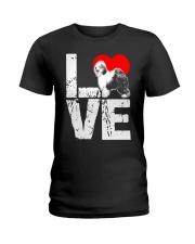 Old English Sheepdog Shirt Ladies T-Shirt thumbnail