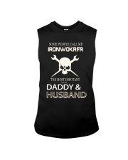 Mens Im An Ironworker Daddy and Husband T shir Sleeveless Tee thumbnail
