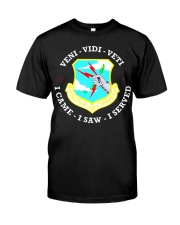 AIR FORCE STRATEGIC AIR COMMAND TSHIRT Classic T-Shirt front