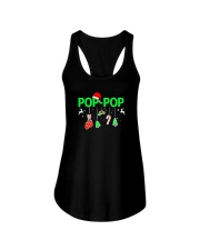 Mens Celebrate this Christmas with Poppop Xmas Ladies Flowy Tank thumbnail