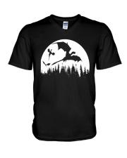 Halloween Dragons TShirt V-Neck T-Shirt thumbnail