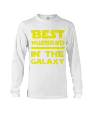 Best Husband In The Galaxy Long Sleeve Tee thumbnail