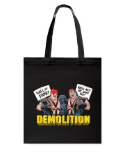 DEMOLITION Tote Bag thumbnail