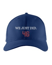 we just did 46 Embroidered Hat front