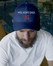 we just did 46 Embroidered Hat garment-embroidery-hat-lifestyle-06