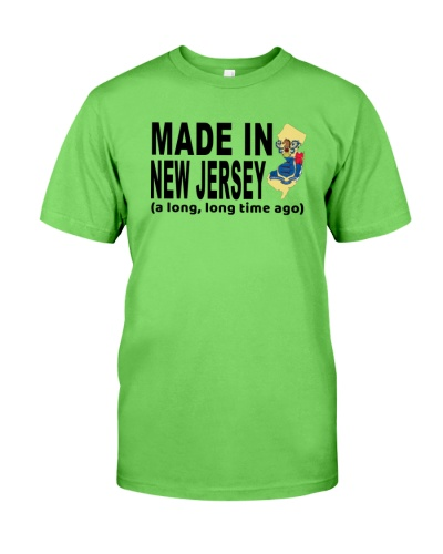 Make In New Jersey A Long Long Time Ago