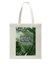 How To Attain Happiness Tote Bag thumbnail