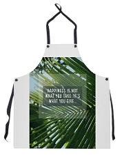 How To Attain Happiness Apron thumbnail