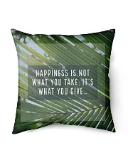 "How To Attain Happiness Indoor Pillow - 16"" x 16"" thumbnail"