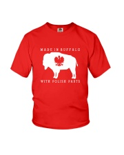 Made in Buffalo with Polish Parts Youth T-Shirt tile
