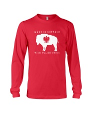 Made in Buffalo with Polish Parts Long Sleeve Tee tile