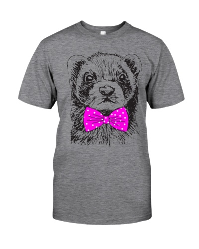 Strong-Ferret-Woman-with-a-boy-Pink-bow tie