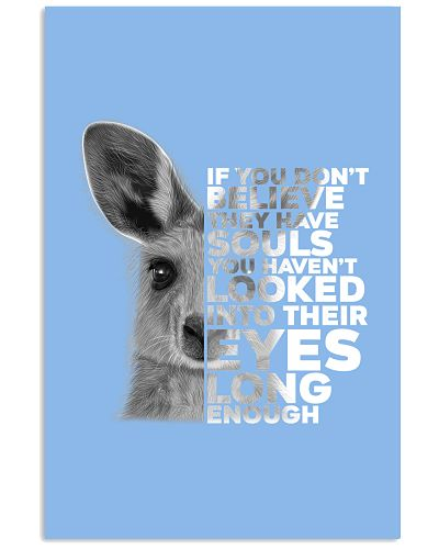 If you don't believe Kangaroos have souls