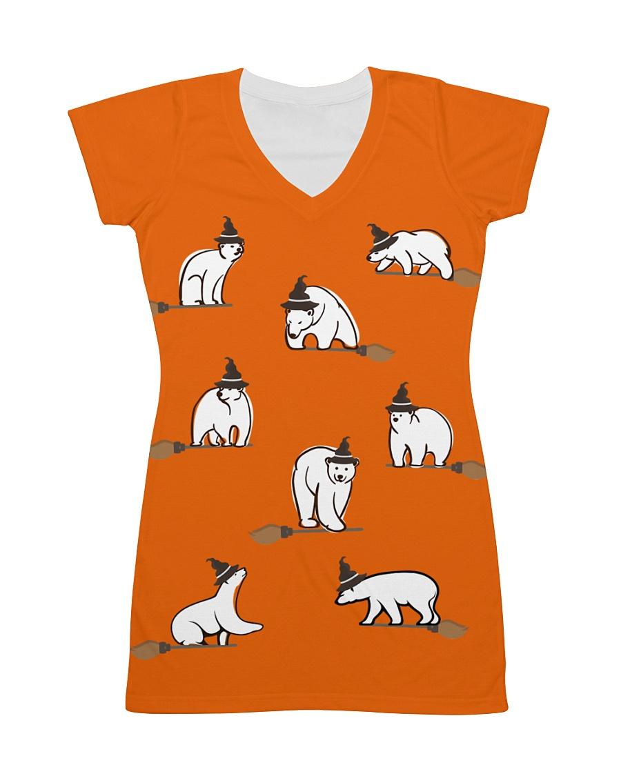 Halloween-Polar Bear All-over Dress