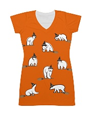 Halloween-Polar Bear All-over Dress front