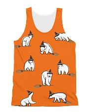 Halloween-Polar Bear All-over Unisex Tank thumbnail