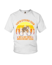 Sloth Cycling Team Cyclist Bicycle MTB Youth T-Shirt tile