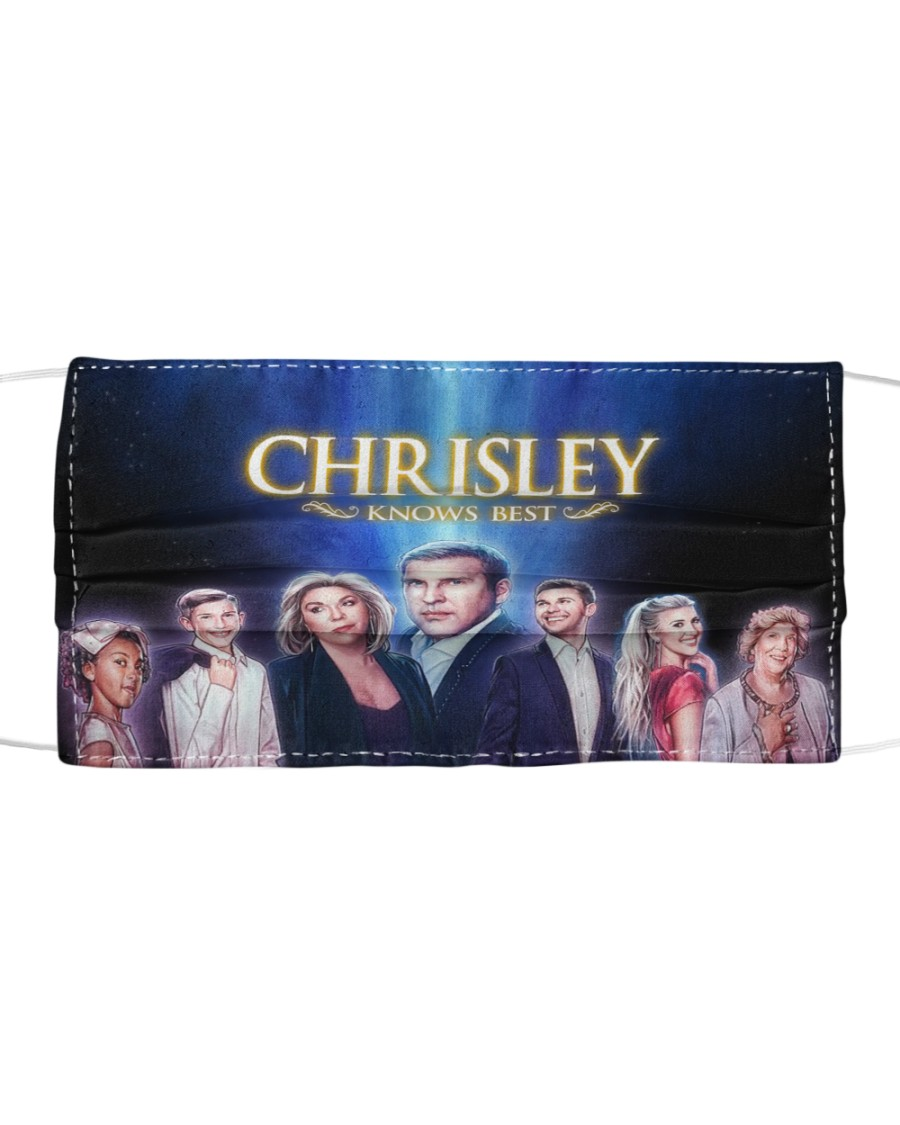 CHRISLEY KNOWS BEST Lovers Cloth face mask