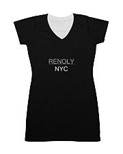Renoly NYC - Dark Colors All-over Dress thumbnail