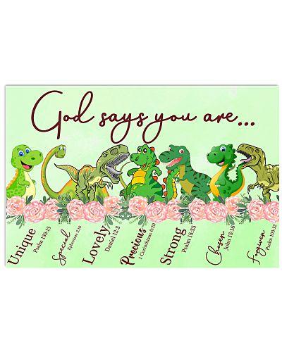 Dinosaur God Say You Are