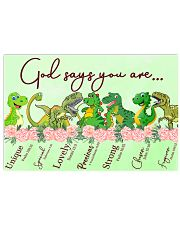 Dinosaur God Say You Are 17x11 Poster front