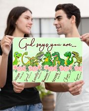 Dinosaur God Say You Are 17x11 Poster poster-landscape-17x11-lifestyle-20