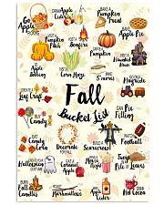 Fall Bucket List 11x17 Poster front