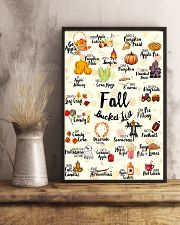 Fall Bucket List 11x17 Poster lifestyle-poster-3