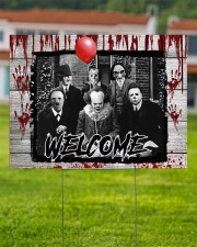 Horror Movie 24x18 Yard Sign aos-yard-sign-24x18-lifestyle-front-02