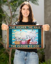 The Higher The Hair The Closer To God  17x11 Poster poster-landscape-17x11-lifestyle-19