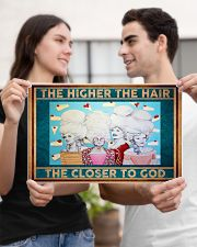 The Higher The Hair The Closer To God  17x11 Poster poster-landscape-17x11-lifestyle-20