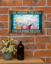 The Higher The Hair The Closer To God  17x11 Poster poster-landscape-17x11-lifestyle-23