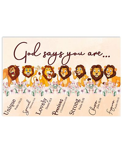Lion God Say You Are