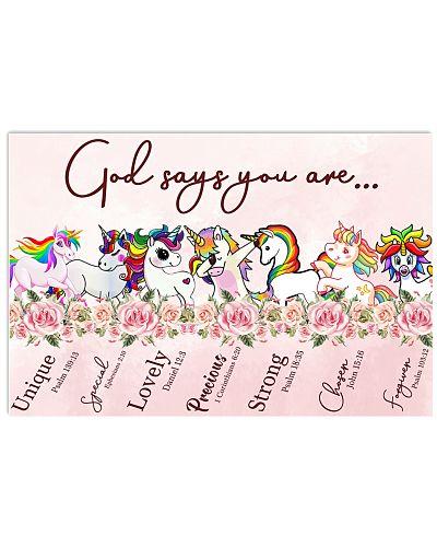 Unicorn God Say You Are