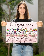 Unicorn God Say You Are 17x11 Poster poster-landscape-17x11-lifestyle-19