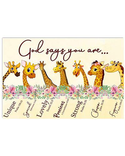 Giraffe God Say You Are