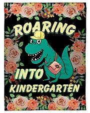 """Roaring Into Kindergarten Back To School 2020 Small Fleece Blanket - 30"""" x 40"""" front"""