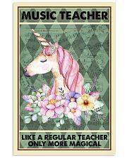 Music Teacher Poster 11x17 Poster front