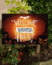 Welcome To Our Haunted House 18x12 Yard Sign aos-yard-sign-18x12-lifestyle-front-06