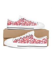 shoes Women's Low Top White Shoes inside-left-outside-left