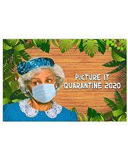 Picture It Quarantine 2020 Horizontal Poster tile