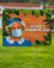 Picture It Quarantine 2020 24x18 Yard Sign aos-yard-sign-24x18-lifestyle-front-02