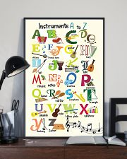 Instruments Alphabet A to Z Poster 11x17 Poster lifestyle-poster-2