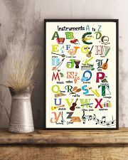 Instruments Alphabet A to Z Poster 11x17 Poster lifestyle-poster-3