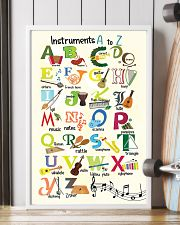 Instruments Alphabet A to Z Poster 11x17 Poster lifestyle-poster-4