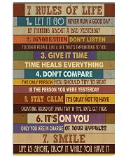 7 Rules Of Life Poster 11x17 Poster front